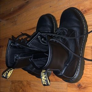 Dr. Martens Awley Leather Boots